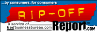Rip-Off Report was created for everyday consumers who are concerned about being cheated.