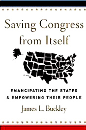 """Eliminating grants to the states will result in enormous savings in federal and state administrative costs; free states to set their own priorities; and improve the design and implementation of programs now subsidized by Washington by eliminating federal regulations that attend the grants. In short, it will free states and their subdivisions to resume full responsibility for all activities that fall within their competence, such as education, welfare, and highway construction and maintenance."" - Amazon"