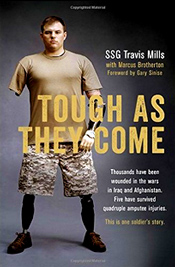 """Thousands of soldiers die year to defend their country. United States Army Staff Sergeant Travis Mills was sure that he would become another statistic when, during his third tour of duty in Afghanistan, he was caught in an IED blast four days before his twenty-fifth birthday. Against the odds, he lived, but at a severe cost—Travis became one of only five soldiers from the wars in Afghanistan and Iraq to survive a quadruple amputation."" - Amazon"